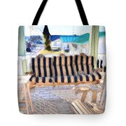 Front Porch On An Old Country House  3 Tote Bag