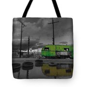 Front Yard Path Black And White Tote Bag