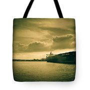 Frontier Ambition Ship Tote Bag