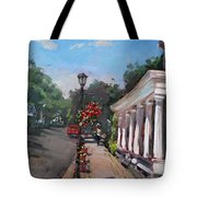 Frontier House In Lewiston  Tote Bag