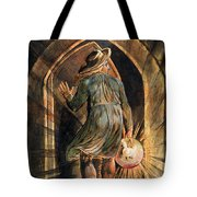Frontispiece To Jerusalem Tote Bag by William Blake