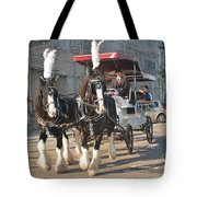 Frost Fair Horses Hastings Tote Bag