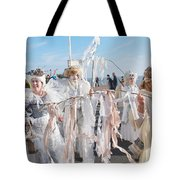 Frost Fair Parade At St Leonards Tote Bag