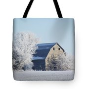 Frost Farm Tote Bag