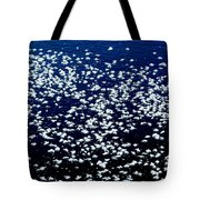 Frost Flakes On Ice - 01 Tote Bag