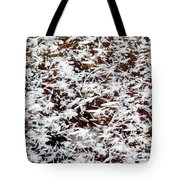 Frost Flakes On Ice - 03 Tote Bag