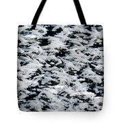 Frost Flakes On Ice - 06 Tote Bag