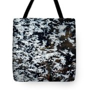 Frost Flakes On Ice - 11 Tote Bag
