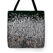 Frost Flakes On Ice - 12 Tote Bag