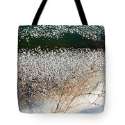 Frost Flakes On Ice - 13 Tote Bag