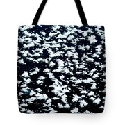Frost Flakes On Ice - 16 Tote Bag