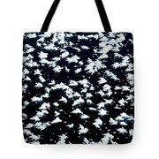 Frost Flakes On Ice - 18 Tote Bag