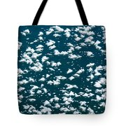 Frost Flakes On Ice - 19 Tote Bag