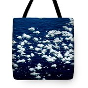Frost Flakes On Ice - 21 Tote Bag