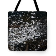 Frost Flakes On Ice - 30 Tote Bag