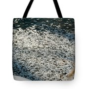 Frost Flakes On Ice - 31 Tote Bag