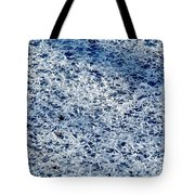 Frost Flakes On Ice - 32 Tote Bag