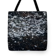 Frost Flakes On Ice - 33 Tote Bag