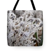Frost In The Field Tote Bag