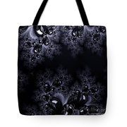 Frost In The Moonlight Fractal Tote Bag