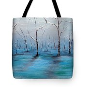 Frost Like Ashes Tote Bag