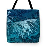 Frost Needles 2 Tote Bag