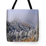 Frost On Cat's Feet Came Tote Bag