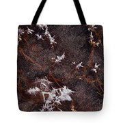 Frost Plumes Tote Bag