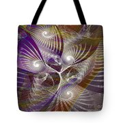 Frost Spirit - Square Version Tote Bag