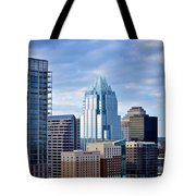 Frost Tower Iphone And Prints Tote Bag