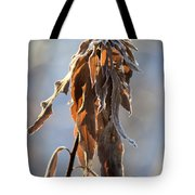 Frosted And Wilted Tote Bag