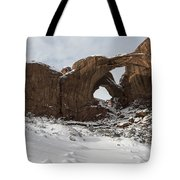 Frosted Double Arch Tote Bag