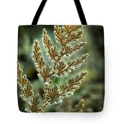 Frosted Fern Tote Bag