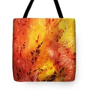 Frosted Fire IIi Tote Bag