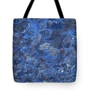 Frosted Frozen Flakes Tote Bag
