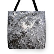 Frosted Glass Abstract Tote Bag