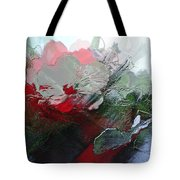 Frosted Hibiscus 2 Tote Bag