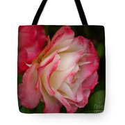 Frosted Rose Tote Bag
