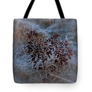 Frosted Rugosa Tote Bag