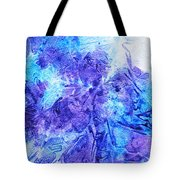 Frosted Window Abstract I   Tote Bag