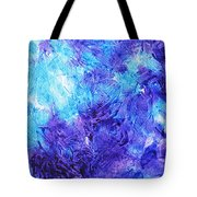 Frosted Window Abstract IIi Tote Bag