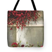 Frosted Windowpane Tote Bag
