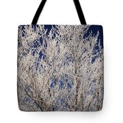 Frosted Wires Tote Bag