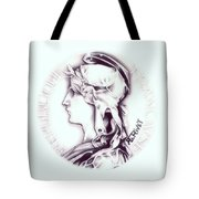 Frosty 1896 French Indochina Tote Bag