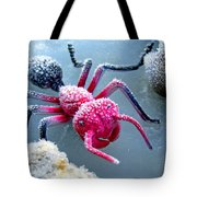 Frosty Ant In Winter Tote Bag
