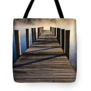 Frosty Docks 3 Tote Bag