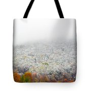 Frosty Fall Tote Bag