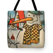 Frosty Family Tote Bag