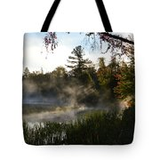 Frosty Glow Tote Bag