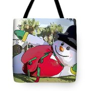 Frosty Is Here Tote Bag